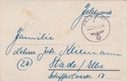 German Feldpost WW2: Artillerie-Regiment 5 (8./III) FP 23419C P/m 12.6.1944 - Letter Inside. Under Command Of 5. Jägerdi - Militaria