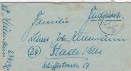 German Feldpost WW2: Artillerie-Regiment 5 (8./III) FP 23419C P/m 12.4.1944 - Letter Inside. Under Command Of 5. Jägerdi - Militaria