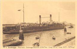 Zeebrugge - Ferry-Boat Zeebrugge-Harwich - Ed. A.Dohmen N° 8 - Zeebrugge