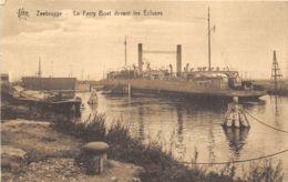 Zeebrugge - Le Ferry Boat Devant Les Ecluses - Ed. De Graeve - Zeebrugge