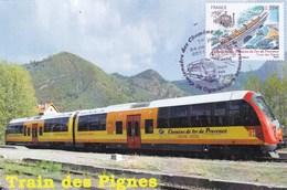 TRAIN DES PIGNES 24/06/2011 (dil401) - Cartes-Maximum