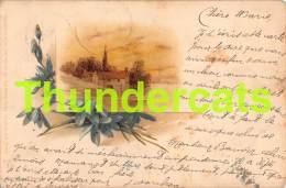 CPA LITHO 1899 JUXBERG FRANKFURT B DONDORF - Illustrateurs & Photographes