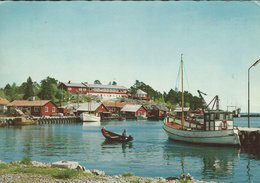 Sweden -  Grisslehamn - Hamnen. The Port. Used 1967    # 07974 - Sweden