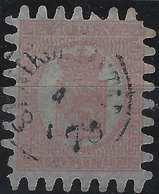 Finlande Coat Of Arms (FACIT) N°9v3C3 Lilas Rouge Sur Papier Bleu Lilas Roulette III Obl Petit Dateur Nikolaistad - 1856-1917 Administration Russe