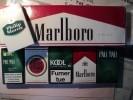 CARTOUCHE MARLBORO ET 6 PAQUETS DE CIGARETTES VIDES. PARAGUAY. 2013 - Contenitori Di Tabacco (vuoti)