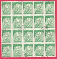 Chine 1959 - N°1198 - Feuillet De 20 Timbres TTB - 1949 - ... People's Republic