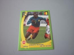 Armando Fucini Cameroon Football World's Champions 2006 Greek Sticker - Adesivi