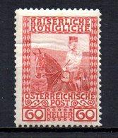 AUSTRIA 1908 MINT MNH At - 1850-1918 Imperio