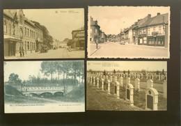 Lot De 20 Cartes Postales De Belgique     Lot Van 20 Postkaarten Van België  - 20 Scans - Cartes Postales