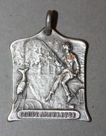 """Très Belle Médaille Ancienne """"Concours Nationale De Pêche à La Ligne / Coupe Amourette"""" - Fishing"""