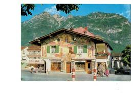 Allemagne -  Oberbayern -   Garmisch Partenkirchen - Dessin Mural - Vélo Bicyclette - Weilheim