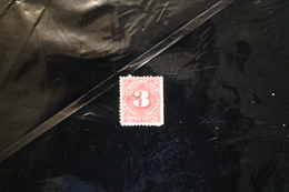 United States J40 Postage Due Straight Edge Used 1895-1897 A04s - Postage Due
