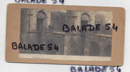Carte Stéréoscopique Double Face : Bayonne Porte D'Espagne / Fontainebleau La Galerie Des Assiettes - En L'état - Stereoscopische Kaarten