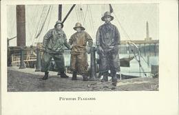 Pêcheurs Flamands.    (2 Scans) - België