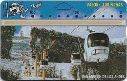 Argentina - Popi L&G - San Martin De Los Andes - 407E - 100U, 01.1994, 4.000ex, Mint - Argentinien