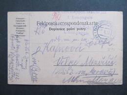 Feldpostkorrespondenzkarte K.k.Etappenpostamt Krasnostaw - Velke Mezirici 1916 ////  D*33895 - 1850-1918 Imperium