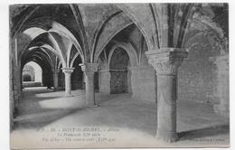 LE MONT ST MICHEL - N° 59 - ABBAYE - LE PROMENOIR DU XIIe SIECLE - CPA NON VOYAGEE - Le Mont Saint Michel