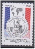2015-N°4959** SERVICE CENTRAL 'ETAT CIVIL - France