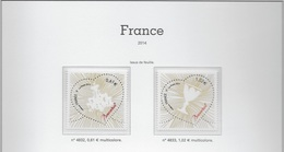 FRANCE 2014 N°4832 à 4922 -  NEUFS * * LUXE - 2010-....