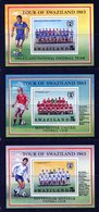 Swaziland 1983 Tour Of Swaziland By English Football Clubs MS Set MNH (SG MS430) - Swaziland (1968-...)