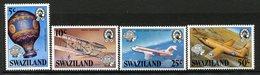 Swaziland 1983 Bicentenary Of Manned Flight Set MNH (SG 431-434) - Swaziland (1968-...)