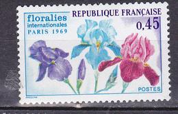 N° 1597 Floralies Internationnales De Paris: Un Timbre Neuf Impeccable Sans Charnière - Unused Stamps