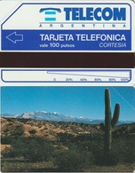 278/ Argentina, Urmet; Complimentary, Jujuy Cactus, Issue: 3.000 - Argentinien