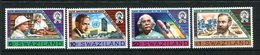 Swaziland 1983 150th Birth Anniversary Of Alfred Nobel Set MNH (SG 436-439) - Swaziland (1968-...)