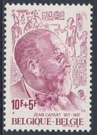 Belgie Belgique Belgium 1977 Mi 1931 YT 1874 ** Jean Capart (1877-1947) Ägyptologe, Hieroglyphen / Egyptologist - Archeologie