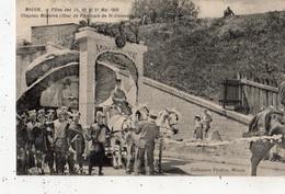 MACON FETES DES 29 30 ET 31 MAI 1909 CHAPEAU MODERNE (CHAR DE L'AMICALE DE SAINT-CLEMENT) - Macon