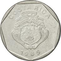 Monnaie, Costa Rica, 5 Colones, 1985, TTB, Stainless Steel, KM:214.2 - Costa Rica