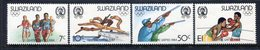 Swaziland 1984 Olympic Games, Los Angeles Set MNH (SG 457-460) - Swaziland (1968-...)