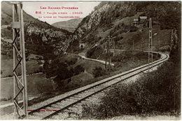 CPA Urdos 64 (vallée D'Aspe). La Ligne Du Transpyrénéen. Jamais Circulé - France