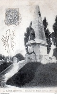 02 - St.Quentin - Monument Aux Soldats De 1870 - Saint Quentin
