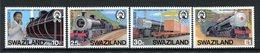 Swaziland 1984 20th Anniversary Of Swaziland Railways Set MNH (SG 466-469) - Swaziland (1968-...)
