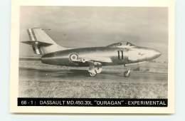 "66 - 1 : Dassault MD.450.30L ""Ouragan"" - Experimental - 1946-....: Ere Moderne"