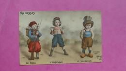 Guerre 1914 - Nos Gosses Par Morinet - Le Poilu L' Embusqué Et Le Bourgeois - Humoristiques