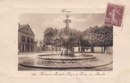 23X - 77 - Provins - Seine-et-Marne - Fontaine Mattelin Boyer Et Place Du Marché - N° 135 - Provins