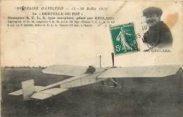 43 , LE PUY EN VELAY , Quinzaine D'aviation , Monoplan Piloté Par Gaulard , CF * 344 81 - Le Puy En Velay