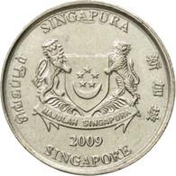 Monnaie, Singapour, 20 Cents, 2009, Singapore Mint, TTB+, Copper-nickel, KM:101 - Singapour