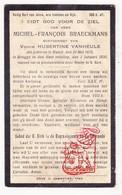 DP Michel F. Braeckmans ° Ranst 1875 † Brugge 1930 X H. VanHeule - Images Religieuses