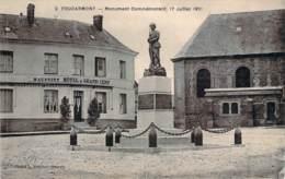 76 - Foucarmont - Monument Commémoratif, 17 Juillet 1921 (hôtel Du Grand Cerf Maupoint) - France
