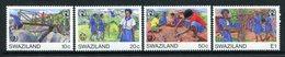 Swaziland 1985 International Youth Year Set MNH (SG 495-498) - Swaziland (1968-...)