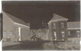 """Dépt 80 - SAILLY-LE-SEC - PLAQUE De VERRE (négatif Photo Noir & Blanc, Cliché R. Lelong) - Café - Bal """"AU PETIT MATELOT"""" - France"""