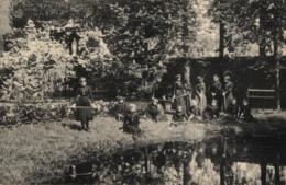BELGIQUE - ANVERS - BOOM - Pensionnat Présentation Notre-Dame - Grotte Et étang. - Boom