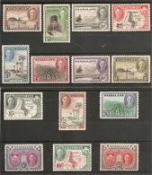 NYASALAND 1945 SET SG 144/157 UNMOUNTED MINT Cat £85 - Nyasaland (1907-1953)