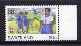 Swaziland 1985 International Youth Year - 20c Value - Wmk. Crown To Right Of CA - MNH (SG 496w) - Swaziland (1968-...)