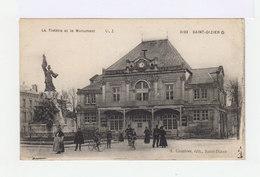 Saint Dizier. Le Théâtre Et Le Monument. Personnages, Bicyclettes. (3064) - Saint Dizier