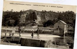 53 VILLIERS-CHARLEMAGNE - Carrières De La Fosse - M. R. MOREAU, Exploitant - Animée - écluse - France