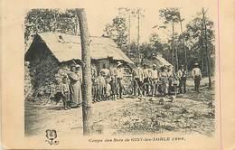 D-18-1566 : GISY LE NOBLE. COUPE DES BOIS. METIER DU BOIS. BUCHERON. - France